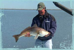 Red fishing in Louisiana with Jose Wejebe
