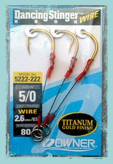 new hooks for deep jigging with butterfly jigs