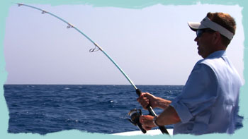 Robby Gant fights sailfish with new Shimano Thunnus spinning reel