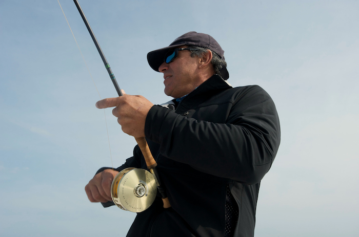 Jose in cape cod with g loomis nrx fly rod spanish fly tv for Fishing rod in spanish